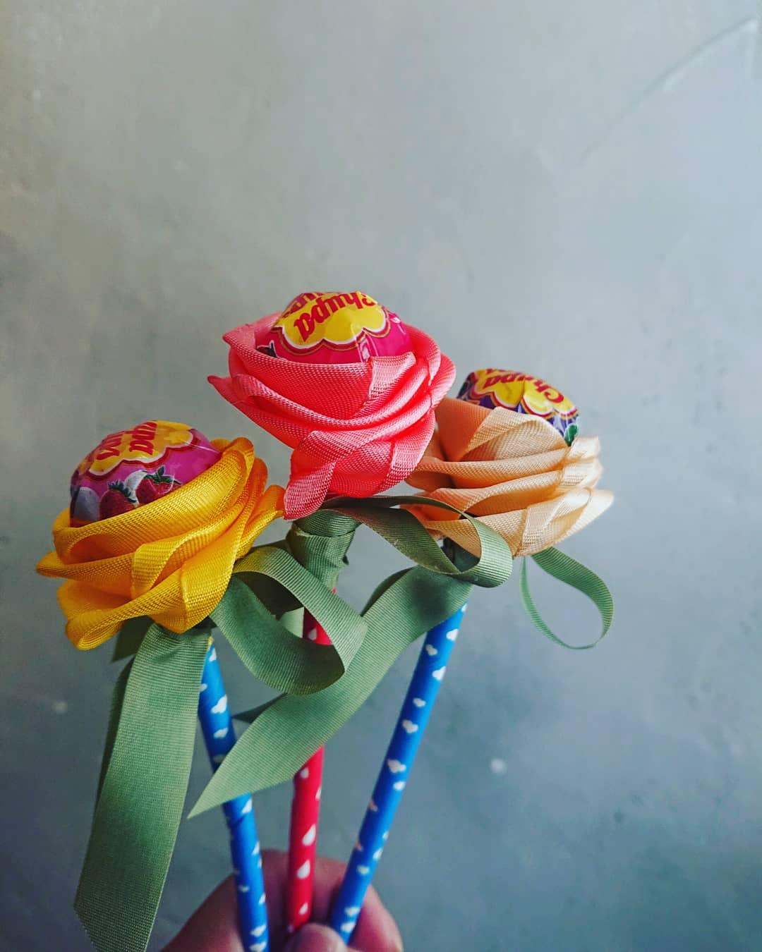 かわいいお花をいただきました🌼